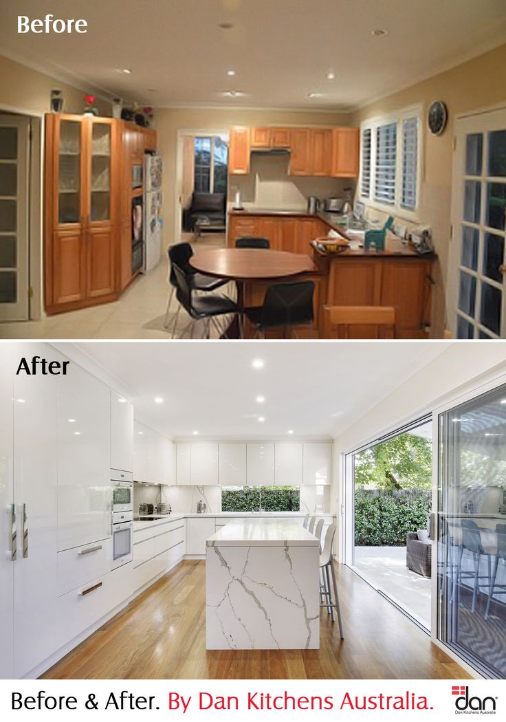 Wahroonga Kitchen Project. Before & After #DanKitchensAus