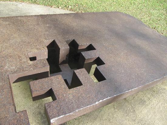 Eduardo #Chillida - #Table - Chillida-Leku museum  http://materiac.com http://materiacagency.com
