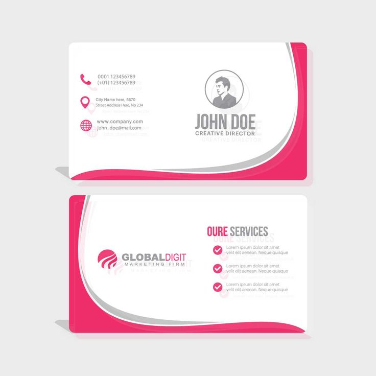 11 best Business Card images on Pinterest | Print templates, Name ...