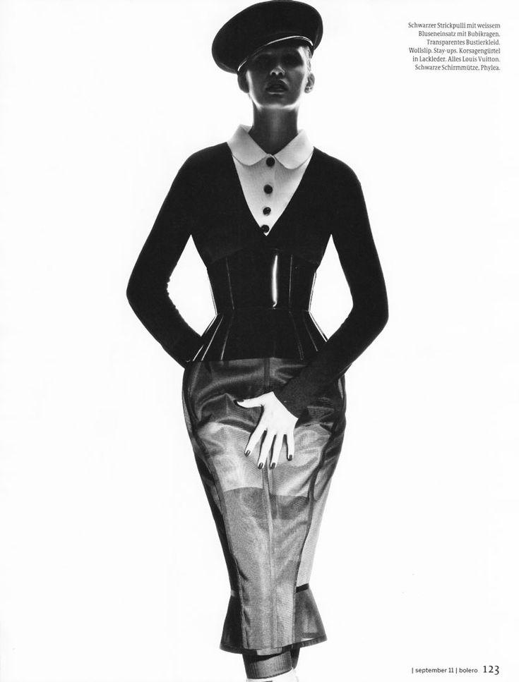 nadine wolfbeisser by oliver rose for bolero magazine september 2011