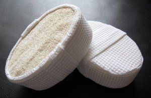 2 Natural Terry Covered Loofah Bath Sponge Pack of 2 by Touch Me. $8.99. Deeply exfoliate skin for a smooth finish. Stimulate blood circulation. Not tested on animals. Environmental friendly.. Pack of 2 -- Natural Terry / Loofah Sponge. Free Shipping !. NATURAL CHOICE: For skin with a healthy and radiant shine, use this terry covered loofah sponge to alleviate stress and tension, while stimulating blood circulation. Use wide cloth strap to secure your hand. The natural...