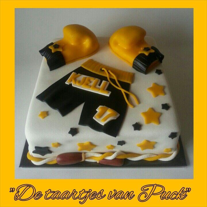 Kickboxing cake / Boks taart