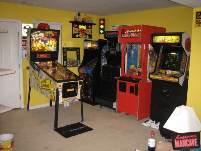 Best Game Room Images On Pinterest Game Rooms Entertainment - Game room ideas inspirations decor