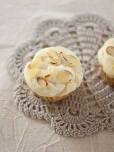 自家製ライスミルク&米粉のシンプルカップケーキ