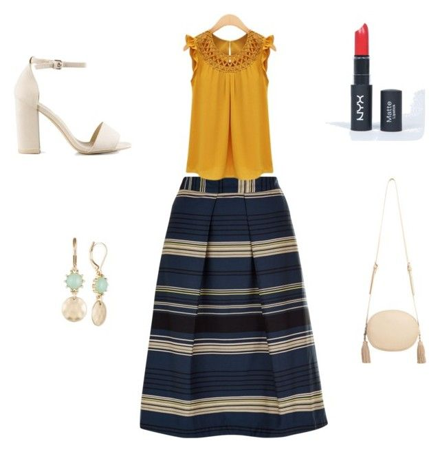"""Stephanie's outfit for going out"" by maggiesitek on Polyvore featuring Nly Shoes, MANGO, Lonna & Lilly and Monsoon"