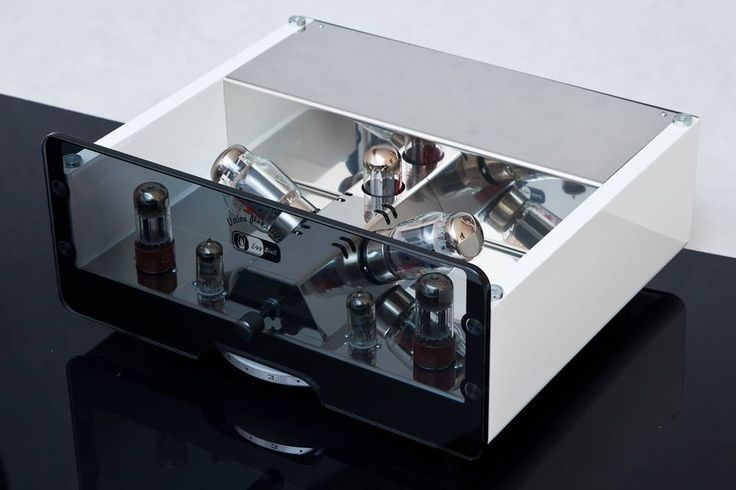 Whiteness is sexi :) - Esthetic valve amplifiers with unique design from EGG-SHELL
