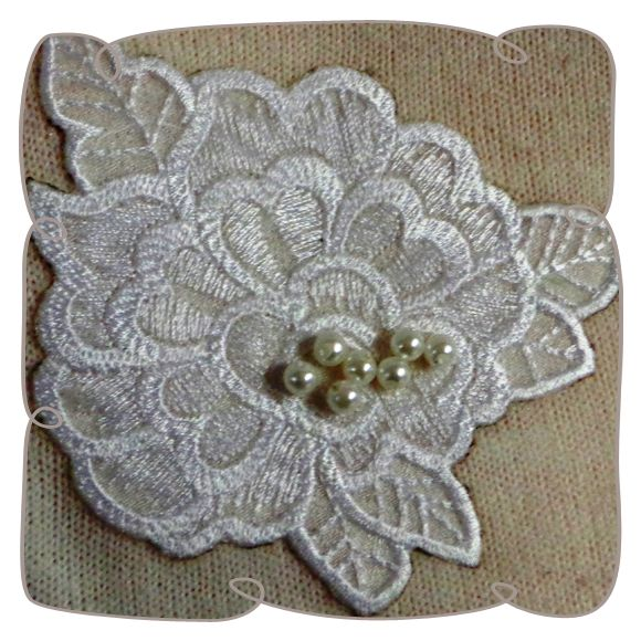Free Standing Lace Embroidery Butterflies