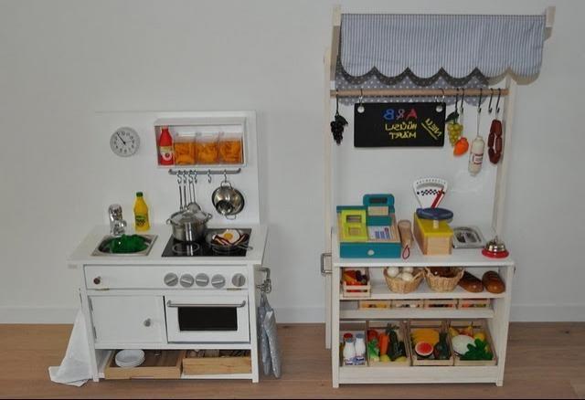 Детские кухни своими рукам..