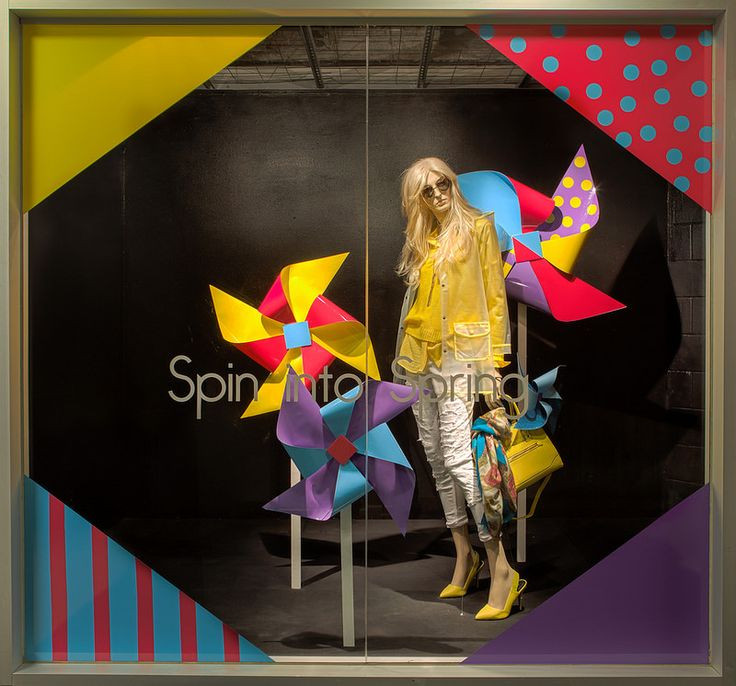 Spring Window Displays 2015. Visual Merchandising Arts, School of Fashion at Seneca College.
