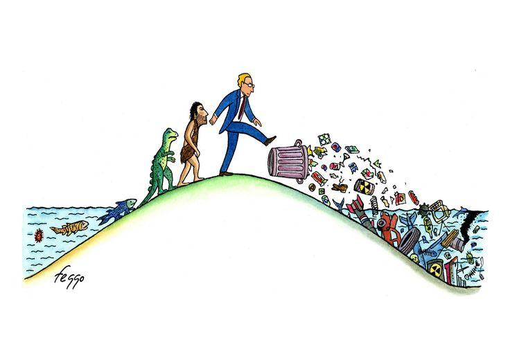 Día de los Océanos: 9 viñetas para ver con perspectiva el cambio climático (VIÑETAS)