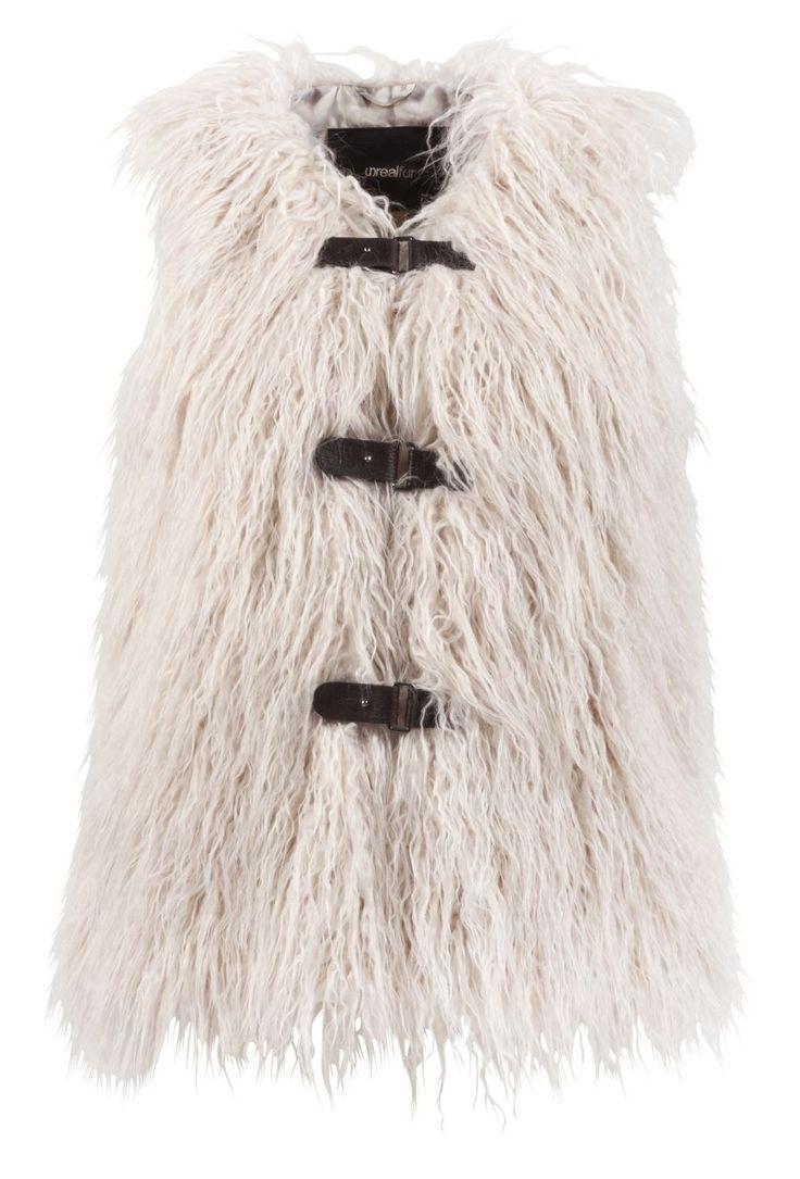 Unreal Fur - Pastorale Vest Cream