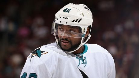 Sharks' Joel Ward says he won't protest during anthem