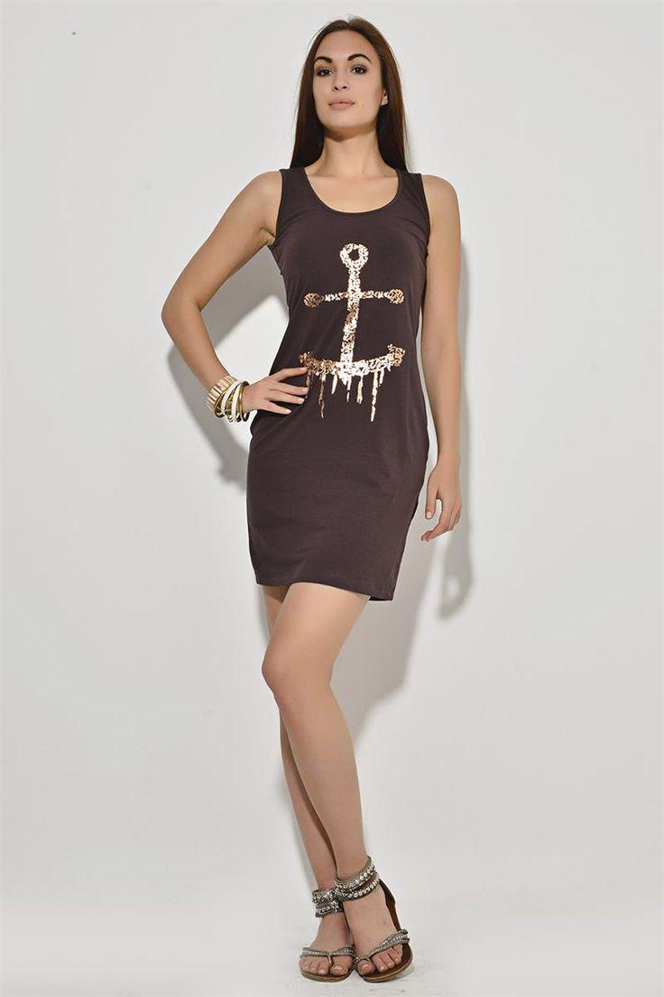 Çapa Desenli Elbise | Modelleri ve Uygun Fiyat Avantajıyla | Modabenle