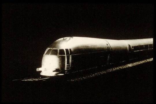 an early chunnel train?