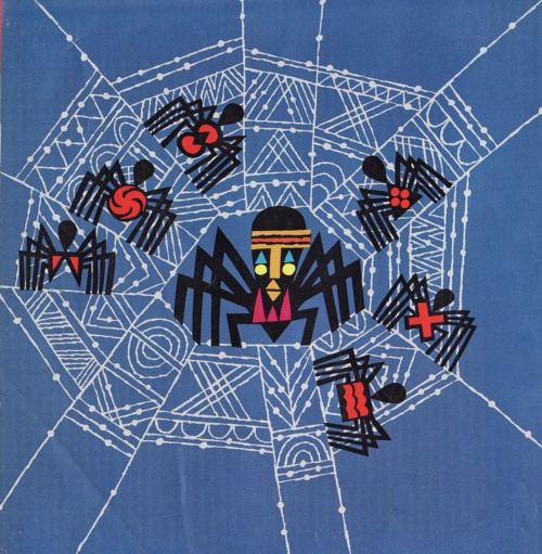 Ananzi the Spider - 2nd grade Line lesson