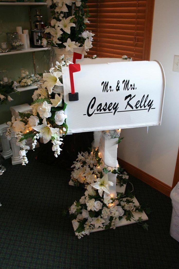 1000 ideas about wedding mailbox on pinterest wedding for Wedding mailbox decorating ideas