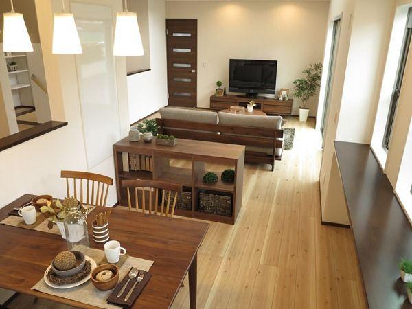 家具の色はドア・建具に合わせることで統一感のあるリビングダイニングとなります! の画像|家具なび ~きっと家具から始まる家づくり~