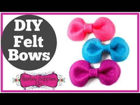 The 25+ best Felt bow tutorial ideas on Pinterest Felt bows - bow template