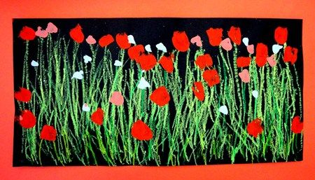 "Artsonia Art Museum :: ""Poppy Field"" by Dawud5"