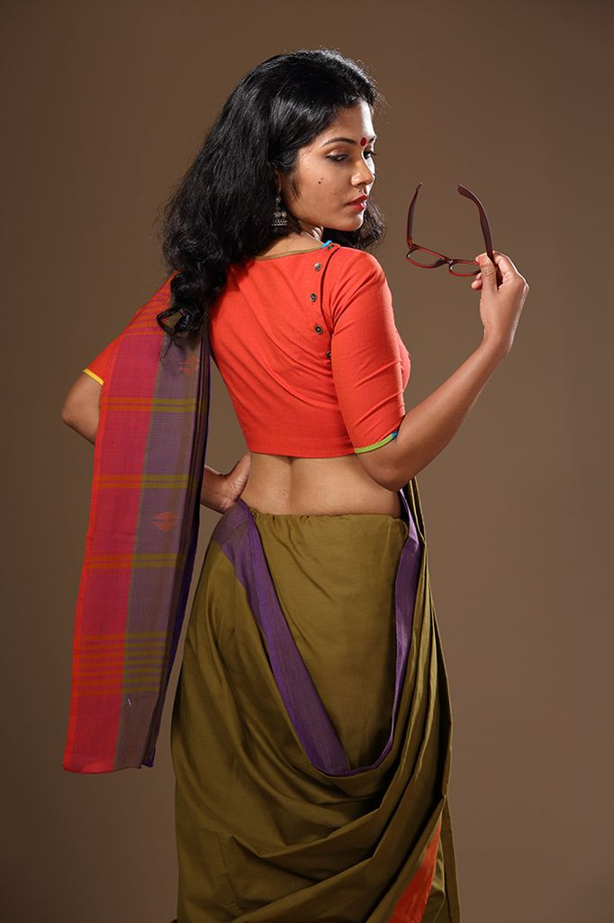 Chendumalli Button Blouse