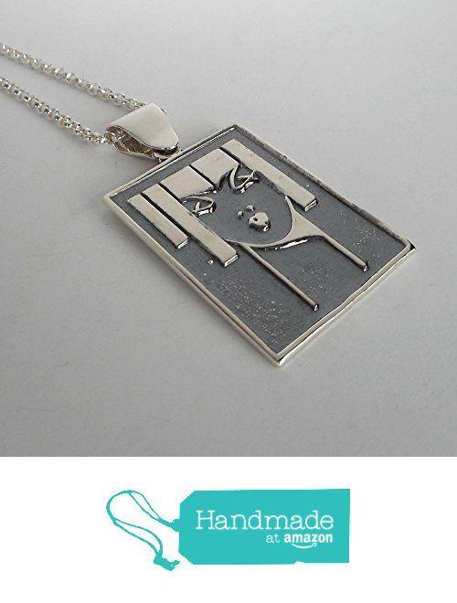 Sterling Silver Flapper Pendant from Lutzenhiser Jewelry https://www.amazon.com/dp/B01LYVTNUX/ref=hnd_sw_r_pi_dp_Hl.DybZDD6CDD #handmadeatamazon