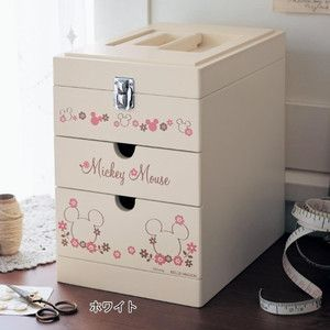 Yahoo!ショッピング - フリーボックス・小物収納(家具・収納) 売れ筋 ... ディズニー 裁縫箱