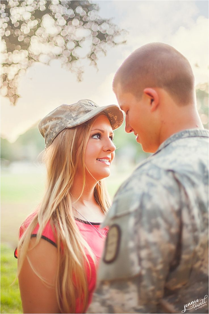{A Girl & Her Army Man ~ A Military Engagement} Mobile, Alabama Engagement Photographer | Jennie Tewell Photography