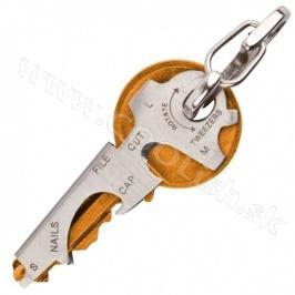 True Utility Kľúčenka - KeyTool http://www.coolish.sk/sk/muzske-darceky/klucenka-keytool