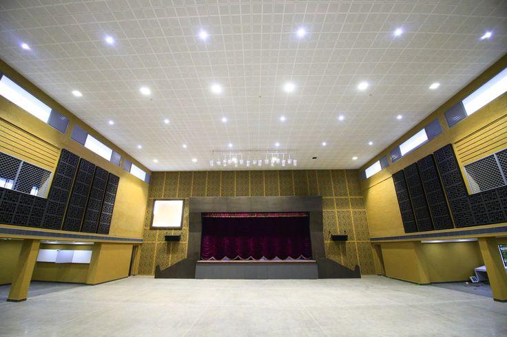 Final stage of Multipurpose Indoor Stadium
