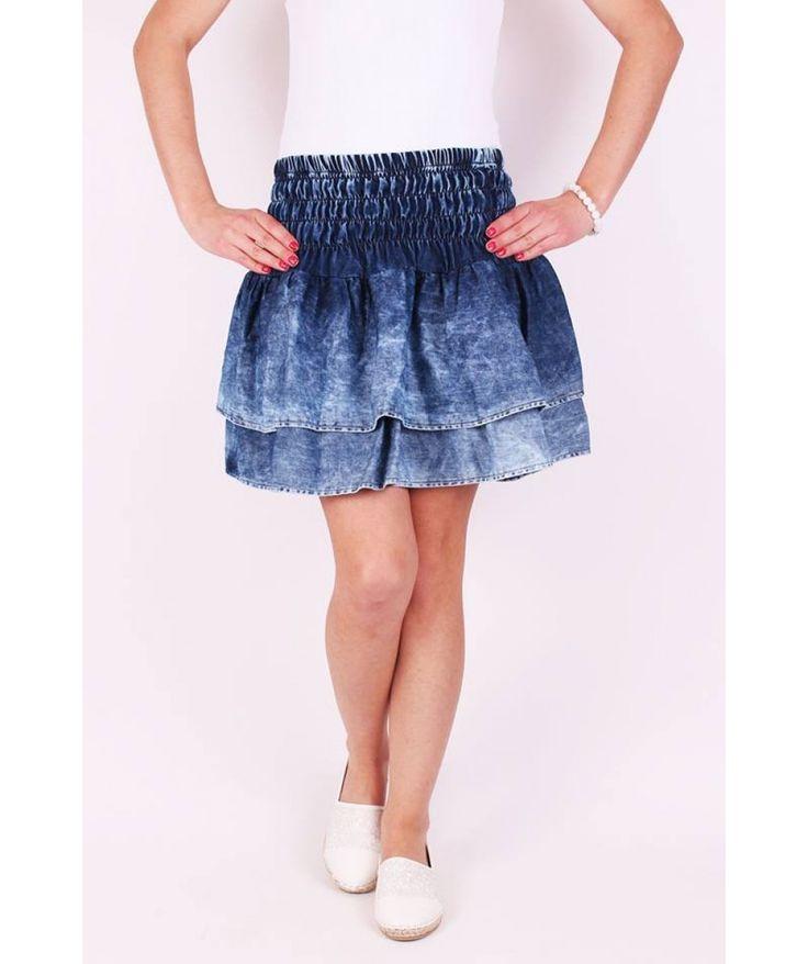 Volánová sukňa