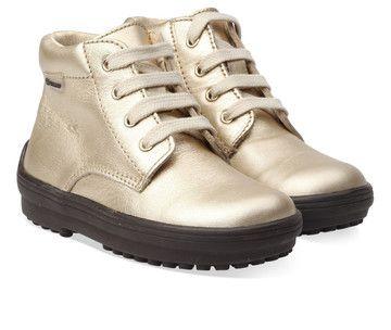 Bronzen/Gouden Naturino kinderschoenen Tarvisio boots