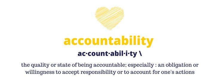 Accountability works!!