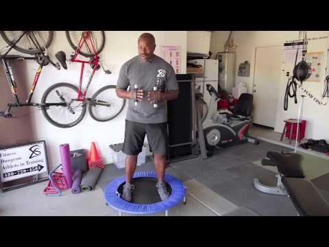 How to Lose Your Tummy With Trampoline Exercises : Fun & Proper Exercises - YouTube