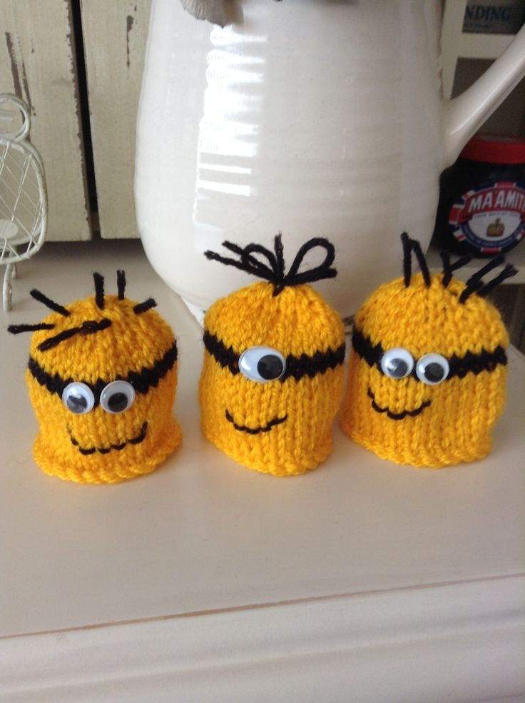 My grandma made innocent hats for the big knit