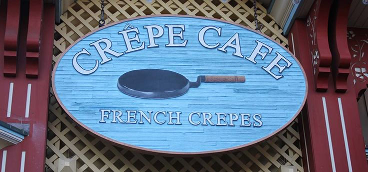 Crepe Cafe offers a variety of sweet and savory crepes at PIER 39 in San Francisco. Choose from favorites on the menu or design your own.