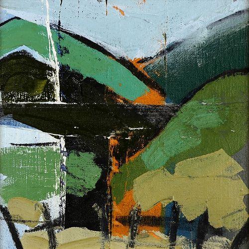 Landscape oil painting 15-106