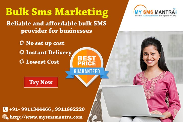 Mysmsmantra.com/ provides quality bulk sms services in india, Bulk sms marketing help business to communicate with their target audience within second. # https://goo.gl/bwBvf