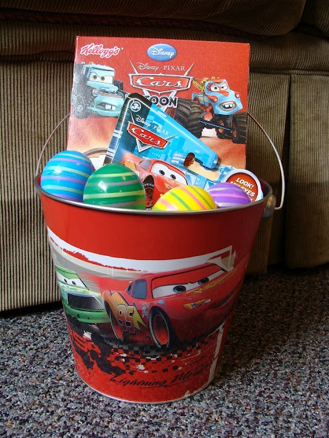 135 best kids baskets images on pinterest creative gift another great easter basket idea ir 18 month old easter basket idea for a little negle Gallery
