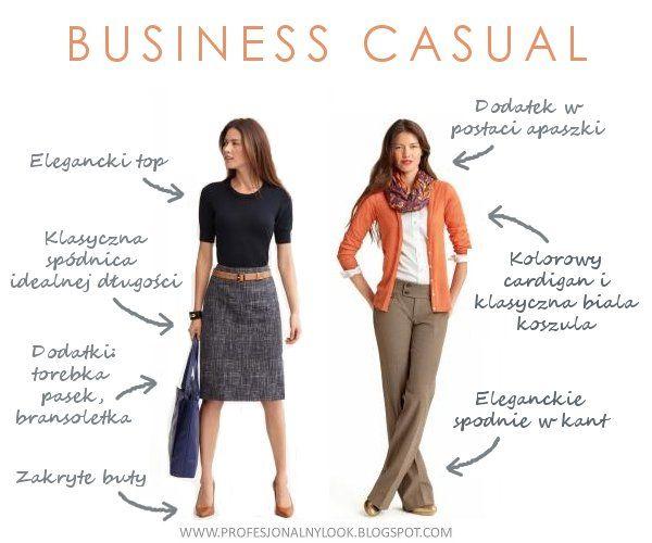 business casual - biznesowy wizerunek