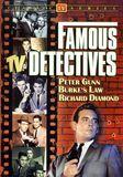 Famous TV Detectives [DVD]