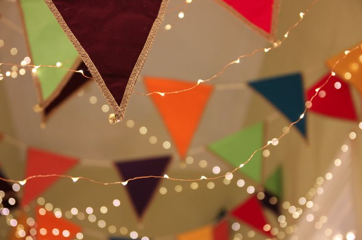 party bunting with bells that jingle @Fireflyworkshop