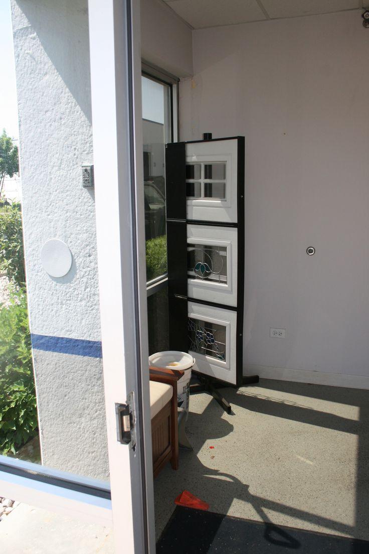 68 best garage door showroom images on pinterest carriage doors front hallway before rubansaba