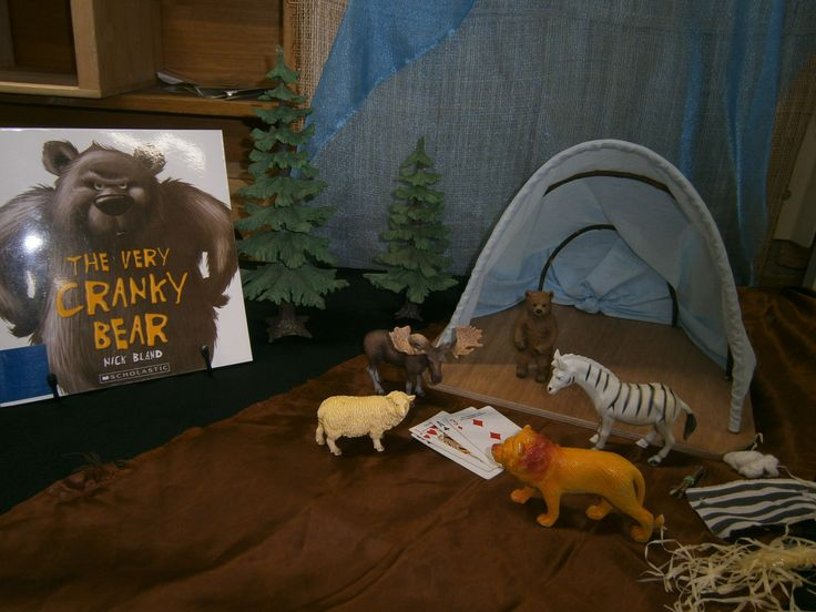 'The Very Cranky Bear' Story Table