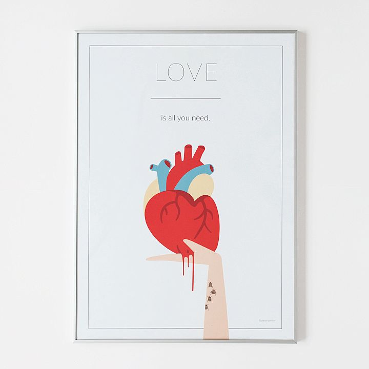 Póster - Love is all you need