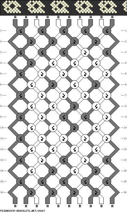 101 best Friendship Bracelet Patterns (Holiday) images on