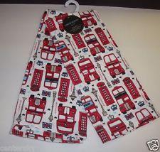 New Cynthia Rowley Set Of 2 Kitchen Towels 100% Cotton London UK Theme  $14.99 Cynthia