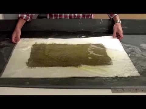 ▶ Gum printing 3 - YouTube