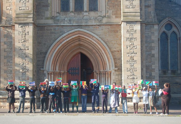 The National English Literary Museum in Grahamstown hosted an event with local learners for Africa Day on 25 May 2015.