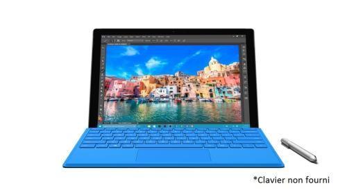 Tablette PC Microsoft Surface Pro 4 12.3' Intel Core i5 4 Go RAM 128 Go pas cher prix Tablette Fnac 879,99€ au lieu de 1099,99€
