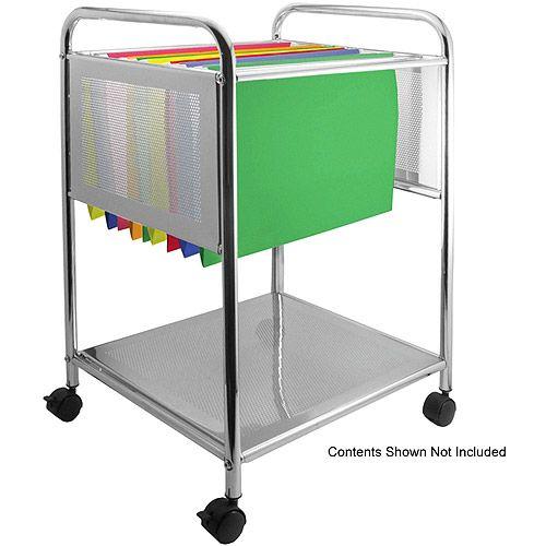 Cropper Hopper Rolling File Cart For 12x12 File Folders